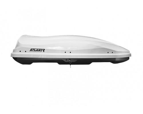 Автомобильный бокс Atlant Diamond 430 белый глянец