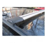 Багажник FICO аэродинамический на рейлинги (серебристый)