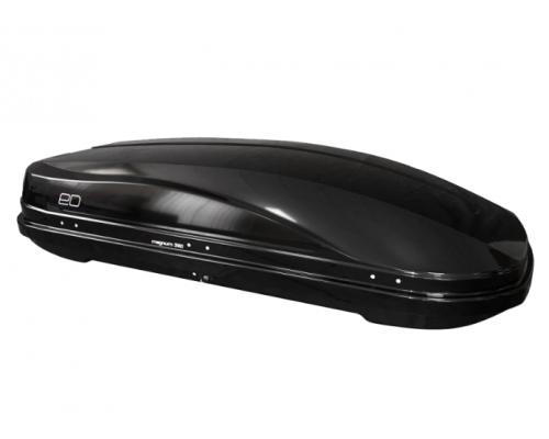 Автомобильный бокс Magnum 390 черный металлик