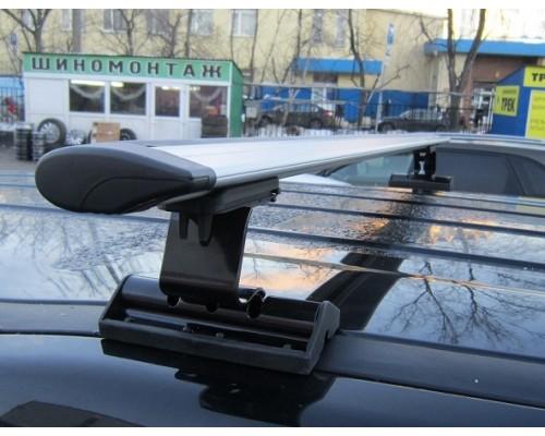 Багажник Интер C-15 в штатные места с крыловидными дугами