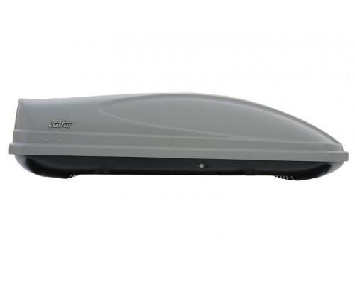 Автомобильный бокс Koffer A430 серый с двусторонним открыванием