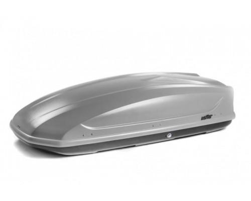 Автомобильный бокс Koffer A440 серый с двусторонним открыванием