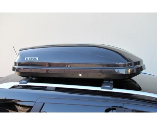 Автомобильный бокс  LUX Flagman 370L черный металлик