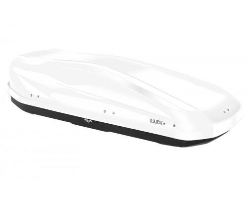 Автомобильный бокс LUX IRBIS 450L белый глянцевый