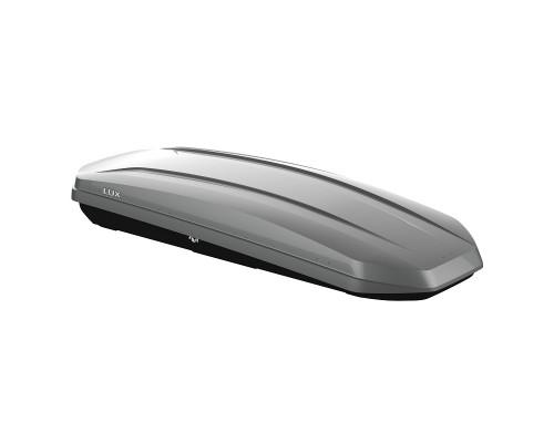 Автомобильный бокс LUX MAJOR 460L серый металлик