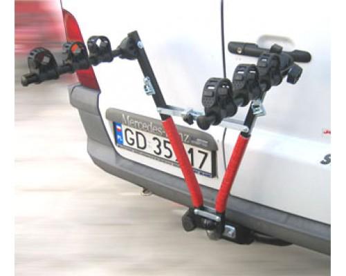 Велокрепление на фаркоп Amos для 3-х велосипедов