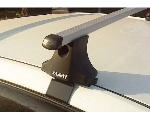 Багажник Atlant с прямоугольными дугами для Fiat Albea