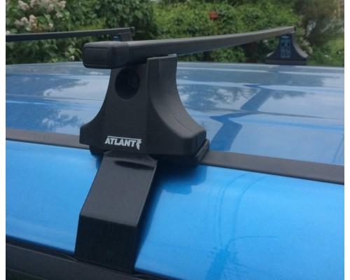 Багажник Atlant со стальными прямоугольными дугами для Renault Symbol