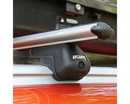 Багажник Atlant с аэродинамическими дугами на интегрированные рейлинги
