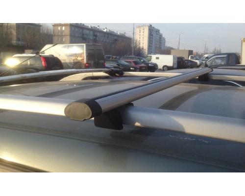 Багажник КРЕПЫШ с аэродинамическими дугами на рейлинги