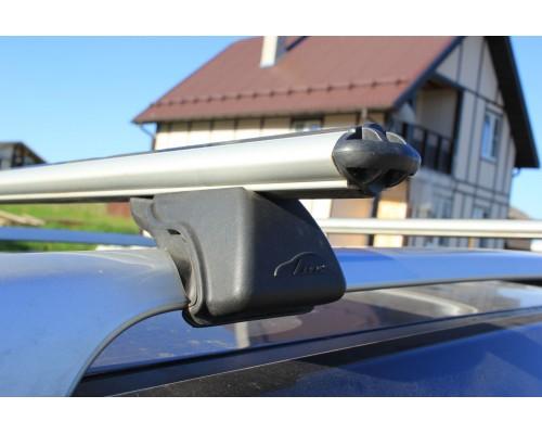 Багажник Люкс Классик с аэродинамическими дугами на рейлинги