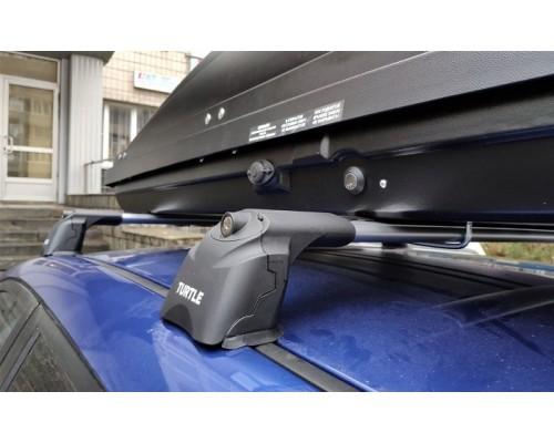 Багажник Turtle AIR 3 в штатные места серебристый