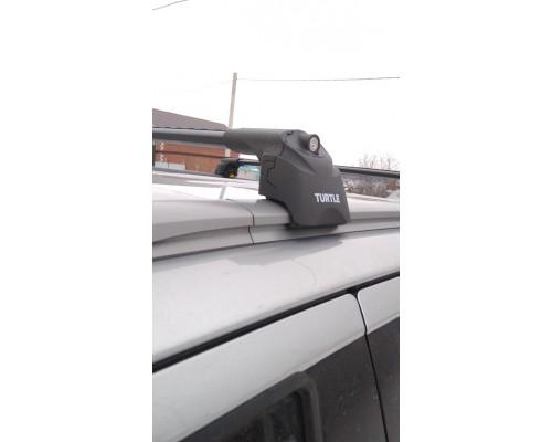 Багажник Turtle Can Carry AIR 2 на интегрированные рейлинги черный