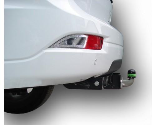Фаркоп Лидер-плюс для Chevrolet TrailBlazer 2012- (с нержавеющей пластиной)