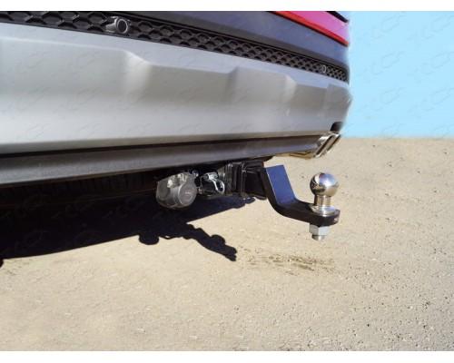 Фаркоп ТСС быстросъемный для Hyundai Santa Fe 2018-