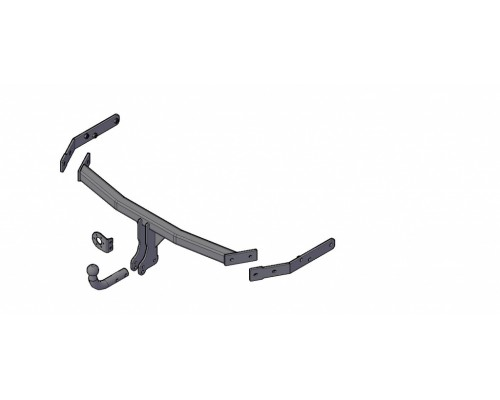 Фаркоп Трейлер для Great Wall Hover Н3 New (CC6461КМ2C) 2014-