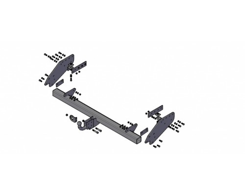 Фаркоп Трейлер для Mitsubishi L200 2014-2015 (удлиненная база)