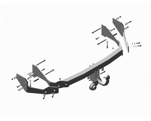 Фаркоп Трейлер для Hyundai Santa Fe (SM) 2000- / Santa Fe (Таганрог) 2007-