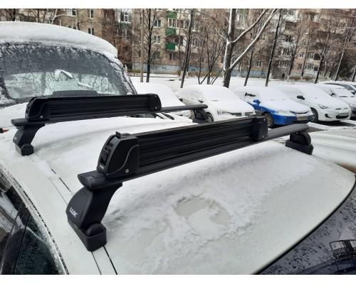 Крепление Интер для 5-и пар лыж или 4-х сноубордов черное