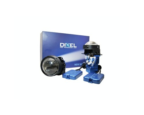 """Светодиодный би-модуль DIXEL NEW NIGHT BI-LED X2 3.0"""" 4800K"""