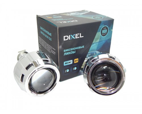 "Би-линзы Dixel G5 MORIMOTO MINI H1 2.5"" с масками №100"