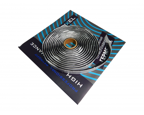 Герметик для фар DIXEL HOT 9,5 mm*4.57M черный
