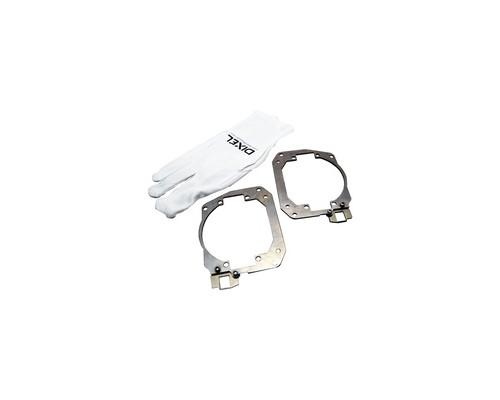 """Переходные рамки Toyota RAV XA40 дорестайлинг 2012-2015 модуль DIXEL mini Bi-LED 3.0"""""""