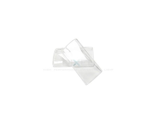 Гладкие стекла фар Mazda 323 (BG)