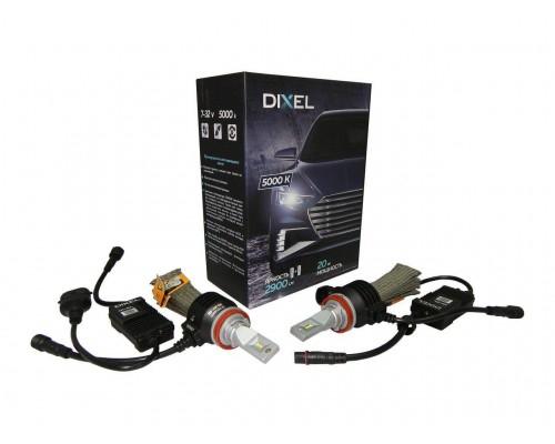 Светодиодные лампы DIXEL G6 2900Lm H11 (Н8, Н16)