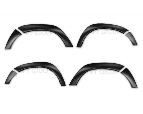 Накладки на крылья (ABS) ПТ Групп для Renault Duster 2012-2015