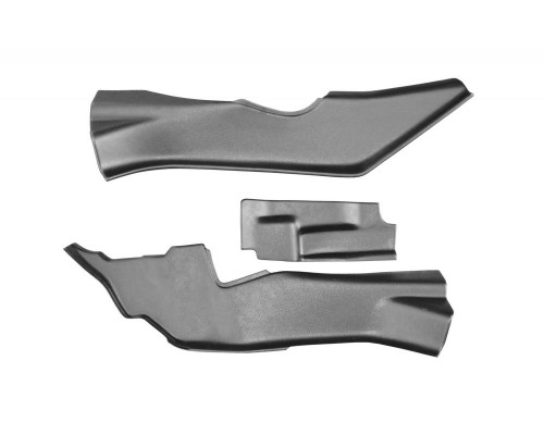 Накладки на ковролин тоннельные (ABS) ПТ Групп для Renault Duster 2012- (в т.ч. рестайлинг)