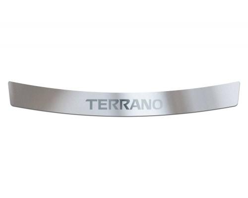 Накладка на задний бампер (НПС) ПТ Групп для Nissan Terrano 2014-