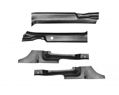 Накладки на ковролин 4 шт. (ABS) ПТ Групп для Nissan Terrano 2014-