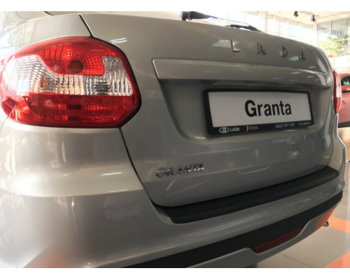 Накладка на задний бампер Yuago АртФорм для Lada Granta FL лифтбэк 2018-