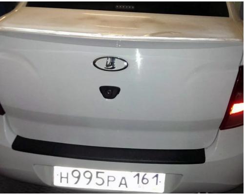 Накладка на задний бампер Yuago АртФорм для Lada Granta седан 2011-2018
