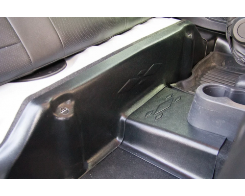 Накладки на ковролин под заднее сиденье Yuago АртФорм для Renault Kaptur