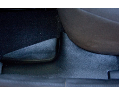 Накладки на ковролин задние Yuago АртФорм для Renault Logan 2014-