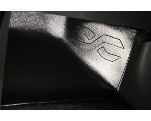 Накладка на ковролин пассажира (АБС) Yuago АртФорм для Lada Vesta (все модификации)