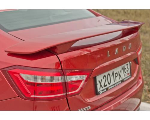 Спойлер Спорт (в цвет автомобиля) Yuago АртФорм для Lada Vesta седан/ Vesta Cross седан