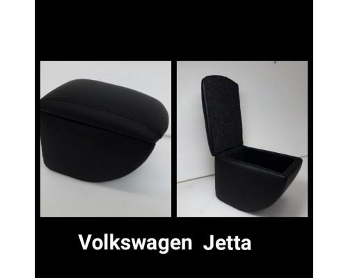 Подлокотник Alvi-style для VOLKSWAGEN JETTA VI 2010-  (на консоль)