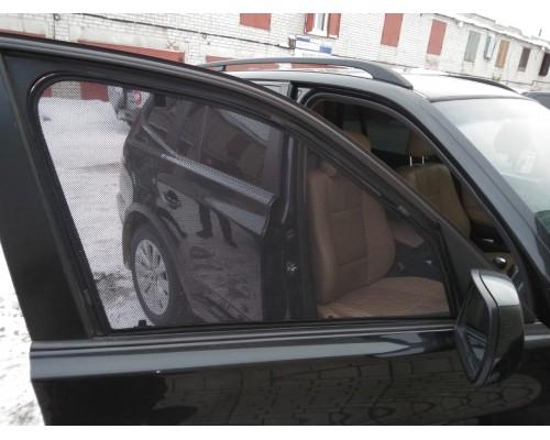 """Шторки каркасные """"Соbra-tuning"""" для BMW X3 2003-2010; Е83 (передние)"""