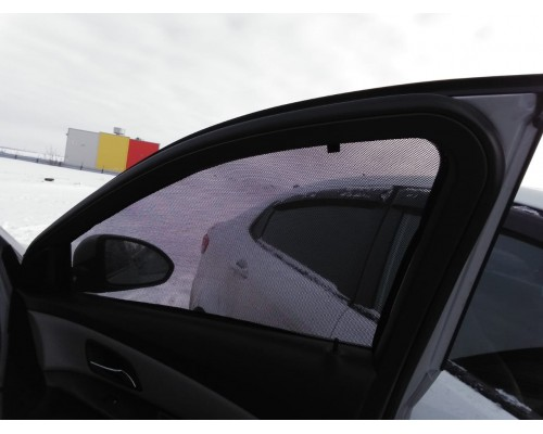 """Шторки каркасные """"Соbra-tuning"""" для Chevrolet Cruze (передние)"""