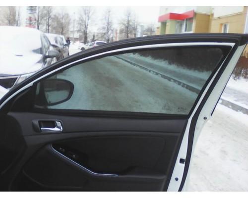 """Шторки каркасные """"Соbra-tuning"""" для Kia Optima 2010- седан (передние)"""