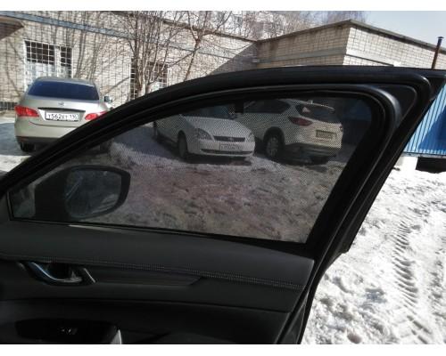 """Шторки каркасные """"Соbra-tuning"""" для Mazda CX5 2017- (передние)"""