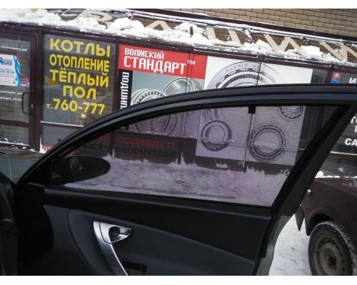 """Шторки каркасные """"Соbra-tuning"""" для Nissan Primera 2002-2008 P12 седан\хэтчбек (передние)"""