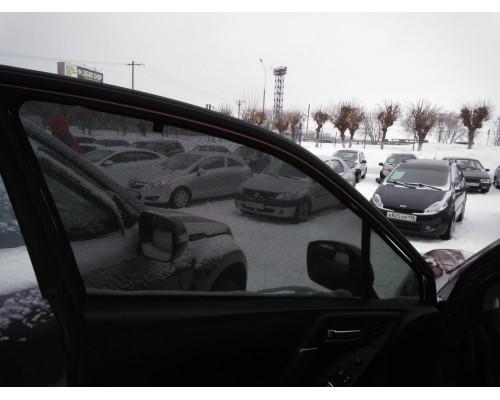 """Шторки каркасные """"Соbra-tuning"""" для Subaru Forester 2012- (передние)"""