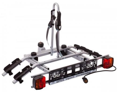Велоплатформа на фаркоп Amos Tytan 2 Plus для 2-х велосипедов
